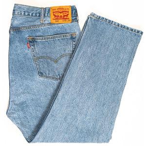 LEVI'S 505 Regular Fit Jeans Size 42 #00375